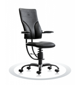Ergonomische stoel Spinalis Apollo zwart