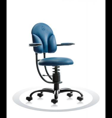 Ergonomische stoel Spinalis Basic donker blauw