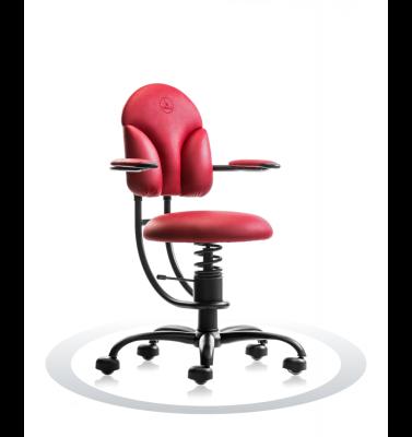 Ergonomische stoel Spinalis Basic rood