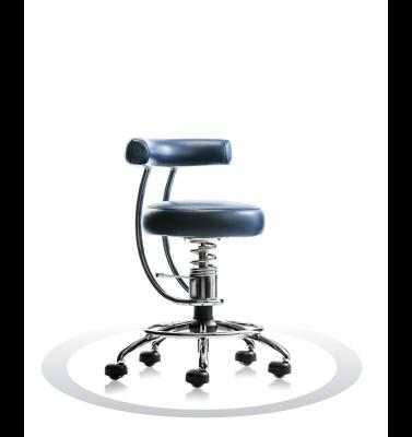 Ergonomische stoel Spinalis Dent donker blauw
