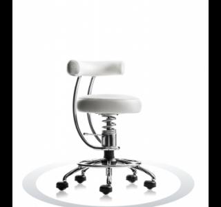 Ergonomische stoel Spinalis Dent wit