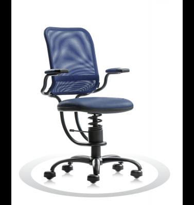 Ergonomische stoel Spinalis Ergonomic donker blauw