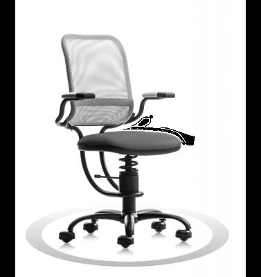 Ergonomische stoel Spinalis Ergonomic grijs