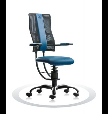 Ergonomische stoel Spinalis Hacker donker blauw