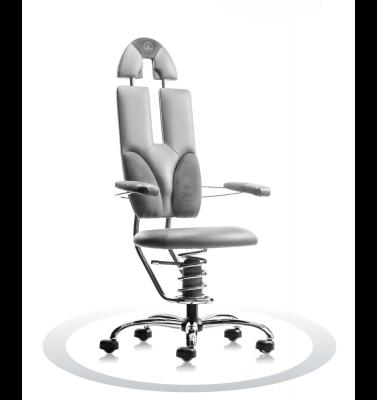 Ergonomische stoel Spinalis Pilot grijs