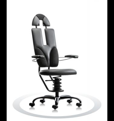 Ergonomische stoel Spinalis Pilot zwart