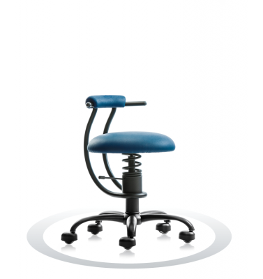 Ergonomische stoel Spinalis Smart donker blauw