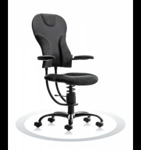 Ergonomische stoel Spinalis Spider zwart twee weken op proef