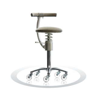 Ergonomische stoel Spinalis Stylist goud