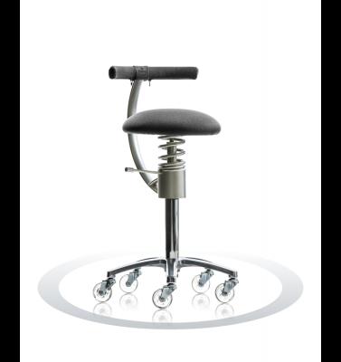 Ergonomische stoel Spinalis Stylist zwart